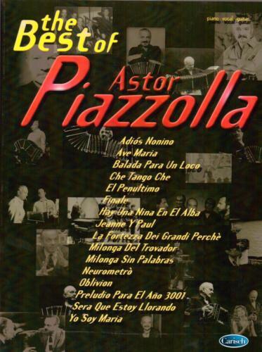 The Best of Astor Piazzolla ML2437-9990051677089 Carisch Verlag