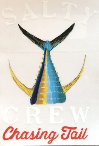 SALTY CREW Sticker 6in TAILED Fishing decal