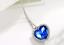 Collana-Ciondolo-Donna-Cuore-Dell-039-Oceano-Titanic-Cristallo-Love-Coppia-Regalo miniatura 6