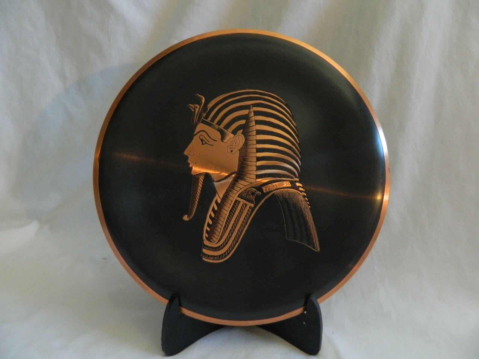 Ägyptisch Kupfer Dekor Platte König Hochwertig 25.4cm 25.4cm 25.4cm Außergewöhnlich | Zu einem erschwinglichen Preis  551620