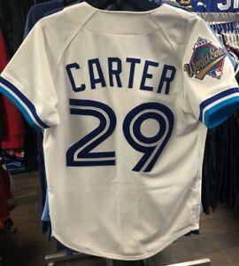 Toronto-Blue-Jays-Mitchell-Ness-Joe-Carter-Authentic-Pro-MLB-White-1992-Jersey