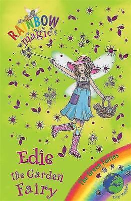 Edie the Garden Fairy (Rainbow Magic) by Daisy Meadows, Acceptable Used Book (Pa