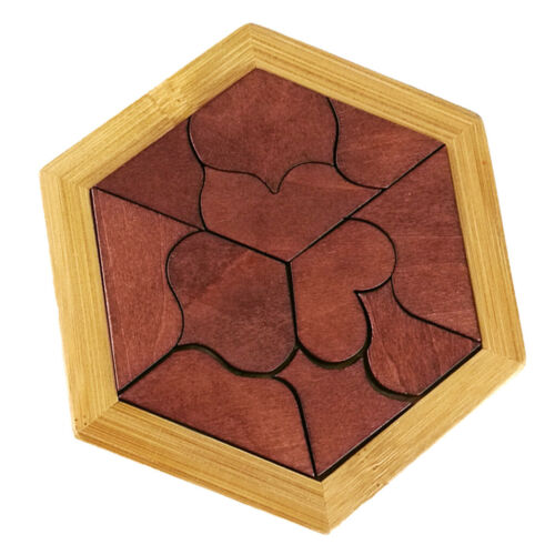Wooden Puzzle Toy Jigsaw Blocks for Kids Children Intelligent Developments
