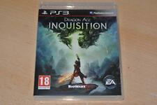 Dragón age Inquisición PS3 Playstation 3 ** GRATIS UK FRANQUEO **