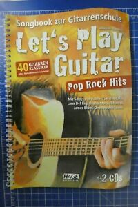 Alexander-Espinosa-Let-039-s-play-Guitar-Pop-Rock-Hits-Hage-mit-2CD-H-294
