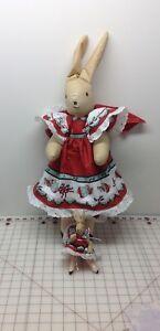 Mother-and-baby-bunny-ballerina-handmade