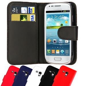 Leather-Wallet-Pouch-Magnetic-Flip-Case-Cover-For-SAMSUNG-GALAXY-S3-mini-I8190