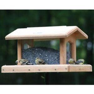 Birds Choice 6 Qt. 4-Sided Hopper Bird Feeder WC4-200S