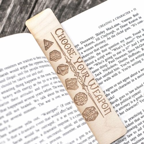 Choose your Weapon Bookmark