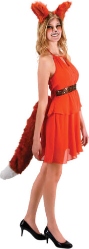 Morris Costumes Women/'s Oversized Furry Fox Ears Headband EL104742