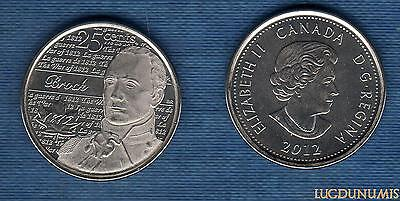 Abundante Canada Guerre De 1812 - 25 Cents 2012 Isaac Brock Y Tener Una Larga Vida.