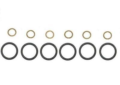 6 joints torique 6 rondelles cuivre Douille pompe à injection Bosch MERCEDES