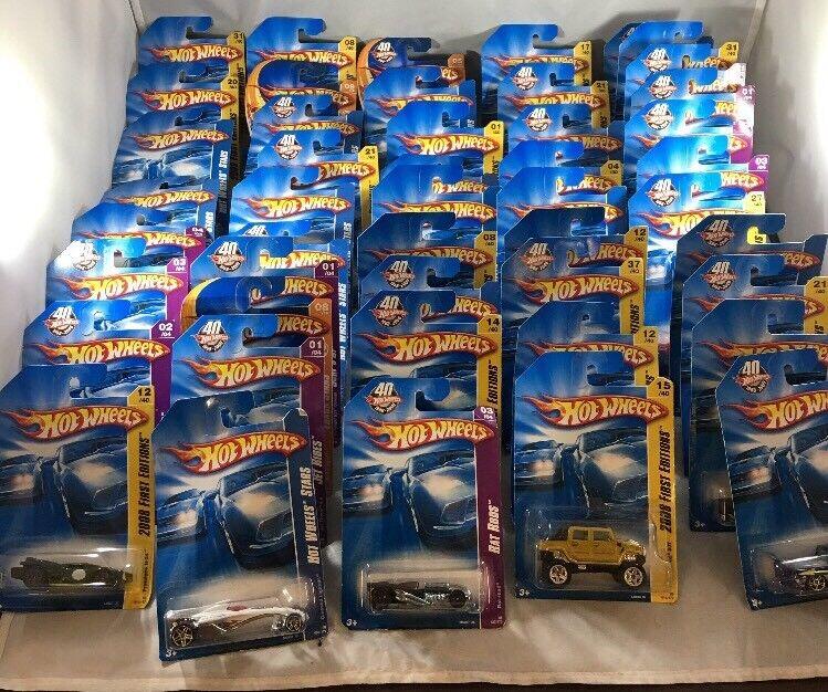 Hot Wheels nouveaux modèles 2008 Mix Lot de 47 voitures Hot Wheels Chevy Dodge Ford M04