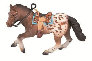 Appaloosa-Hengst-Pferde-Figur-Bullyland-Pferd-Sammelfigur-62668-NEU