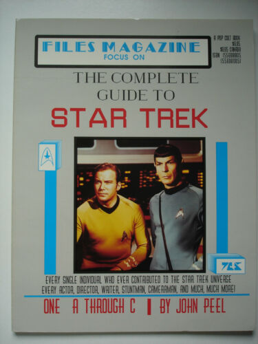 STAR TREK Files Magazine The Complete Guide To Star Trek A to C Magazine