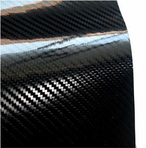 Pellicola-adesiva-CARBONIO-NERO-lucido-5D-car-wrapping-auto-moto-VARIE-MISURE