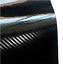 Pellicola-adesiva-CARBONIO-NERO-lucido-5D-car-wrapping-auto-moto-VARIE-MISURE miniatura 1