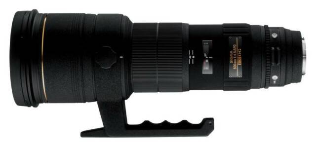 Sigma EX 500mm F4.5 APO DG HSM (Nikon)