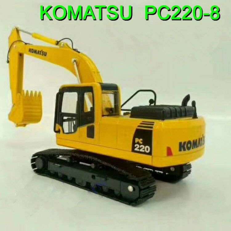 1 43 Komatsu PC220-8 Hydraulic Excavator Diecast Toy Model for Gift,Collection
