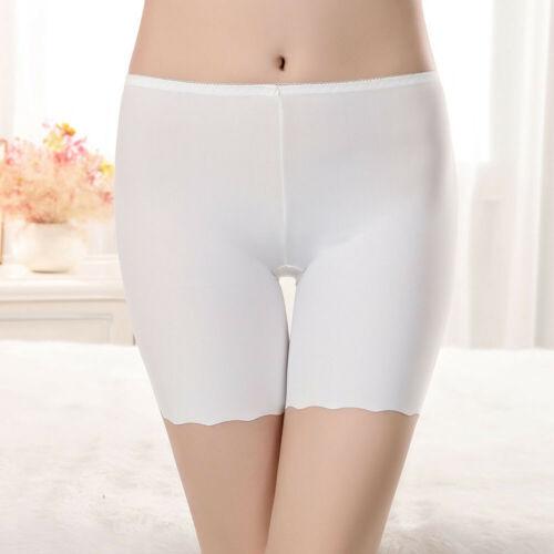 Safety Shorts Women Lady Fashion Pants Leggings Seamless Plain Underwear Shorts