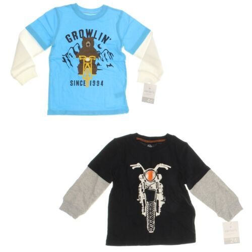 Select a size//color Carter/'s Boys/' Layered Look Long Sleeve T-Shirt