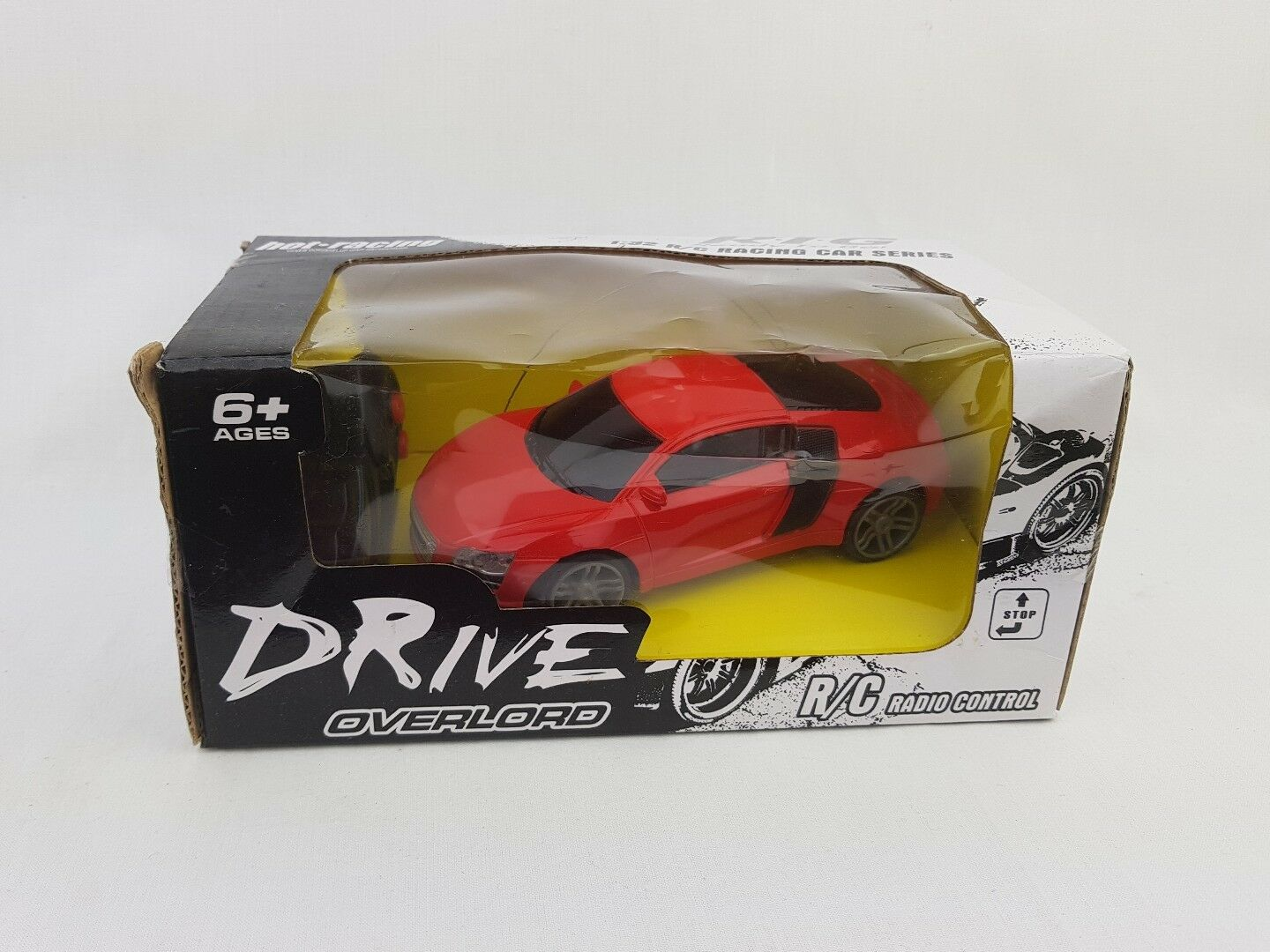 Racing car  radio control Drive overlord BOXED NEW