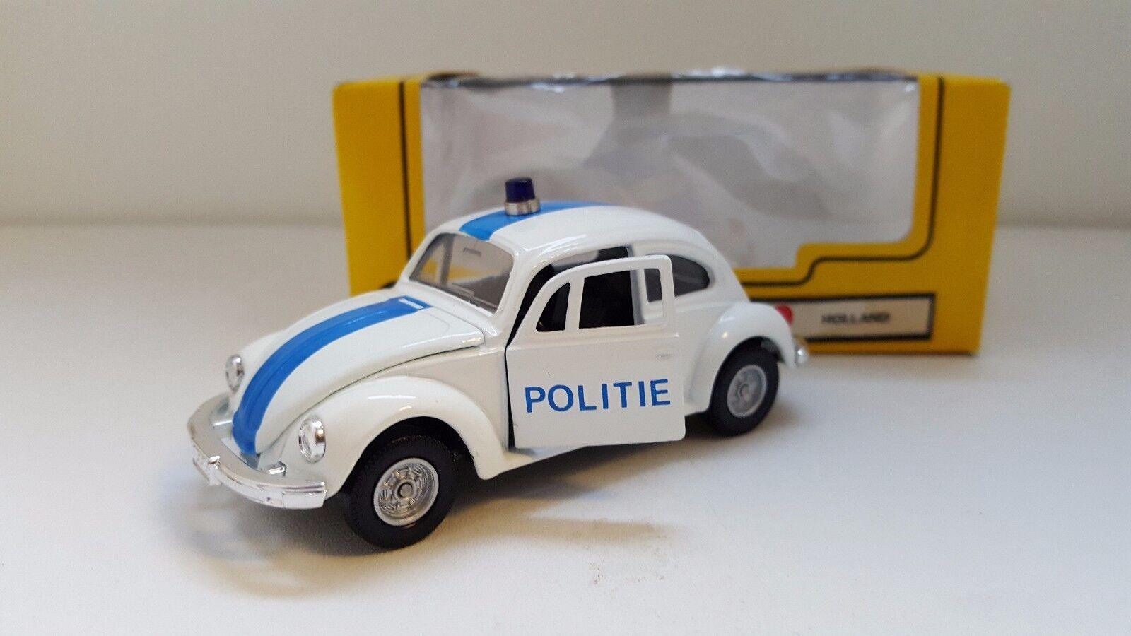 Tomica Dandy / Kado - KT 18 - Volkswagen Beetle 1200 LE Politie Holland  1/43