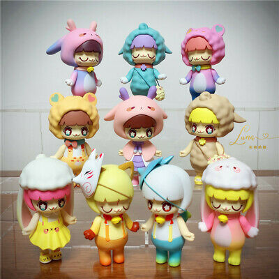 52TOYS Kimmy/&Miki Animal Series Miki Fox Mini Figure Art Designer Toy Figurine