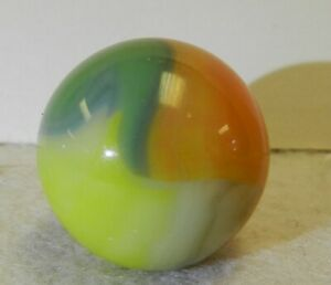 9710m Vintage Vitro Agate Shooter Marble .86 Inches