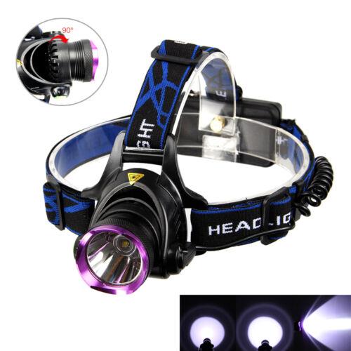 6000LM XM-L T6 LED Stirnlampe Kopflamp Headlamp Licht Lamp USB 18650 Ladegerät