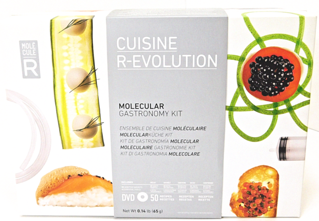 Molecular Gastronomy Cuisine R Evolution Kit With Dvd For Sale