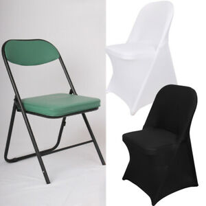 1-100PCS-Spandex-Fitted-Folding-Chair-Cover-Dinning-Event-Slipcover-for-Wedding