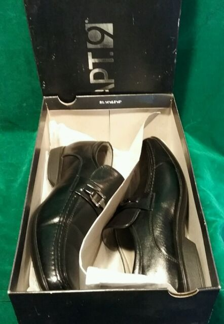 ecb4e84c71c Kohls APT 9 Mens Loafers Slip on Formal Casual Dress Shoes Fury Black Size  9.5