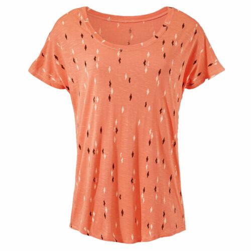 Damen Sommer T-Shirt Tops Kurzarmshirt Tunika Freizeit Hemd Bluse Oberteil Tee