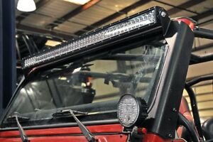 Jeep-TJ-50-inch-Straight-LED-Light-Bar-Upper-Windscreen-Mounts-97-06-TJ-70503