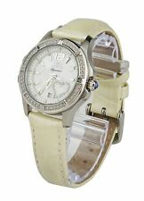 fa26afa746508 Invicta Signature II Mother of Pearl Dial White Leather Ladies Watch 7475
