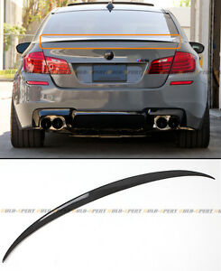 For 11-16 BMW F10 5 Series 535i 528i Carbon Fiber M5 OE Style Trunk Spoiler