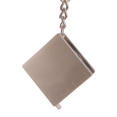 1 stück Mini praktische maßband schlüsselanhänger schlüsselanhänger ring schl Nw