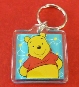 Collectible-Plastic-Keyring-Disney-Winnie-the-Pooh-Winnie-L-039-ourson