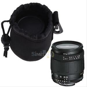 water resistant neoprene soft dslr camera lens pouch bag