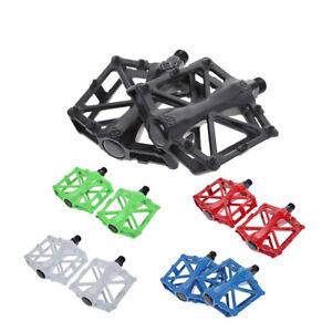 Pedal-MTB-Mountain-Bike-Aluminium-Alloy-Hollow-Flat-Platform-Bicycle-BMX-Cycle
