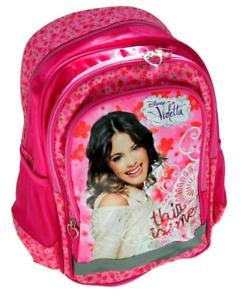 a444ab3445d1d Image is loading Disney-Violetta-Ergonomic-Backpack-School-Backpack-Bag- Disney-