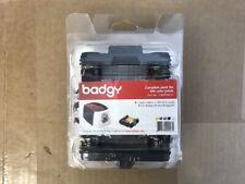 NEW Genuine Evolis Badgy200 YMCKO Ribbon CBGP0001C 30 Mil Cards Supplies Kit