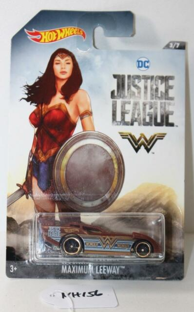Mattel Hot Wheels DC Justice League Wonder Woman Maximun Leeway FNQHobby NH156