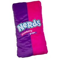 Sweet Thang Large Nerds Candy Plush Pillow - 27 Inches Long
