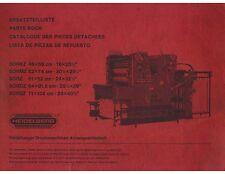 Heidelberg SOR (old) Parts Catalogo (098)