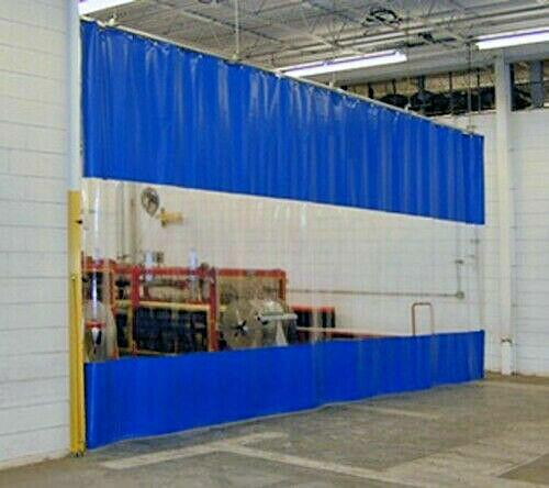 PVC Streifenvorhang Lamellen Streifen 300x3mm 25m 25 Meter klar € 3,40//m