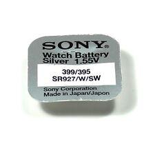 SONY 1 Pile 1.55V 395 399 Argent SR927SW SR57 SR927 AG7 LR57
