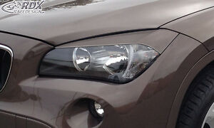RDX-Scheinwerferblenden-BMW-X1-E84-2012-Boeser-Blick-Blenden-Spoiler-Tuning
