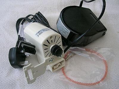 Máquina De Coser YDK Motor /& Pie Pedal De Control Ajuste un montón de antiguas máquinas de coser